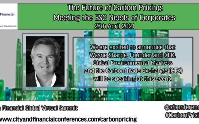 The Future of Carbon Pricing – Meeting the ESG Needs of Corporates
